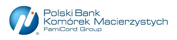 logo Polskiego Banku Komórek Macierzystych