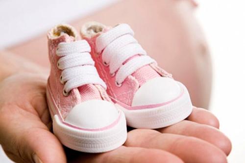 niemowlęce buciki