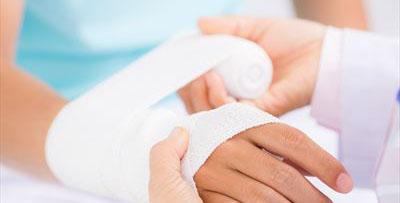 bandażowanie ręki